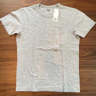 ユニクロ(UNIQLO)のUNIQLO ウォッシュスラブポケツキT(Tシャツ/カットソー(七分/長袖))