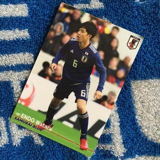 サムライブルー 2018 遠藤航選手カード