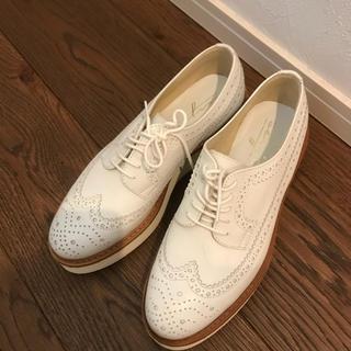 スピックアンドスパン(Spick and Span)の美品☆スピックアンドスパン ウィングチップシューズ(ローファー/革靴)