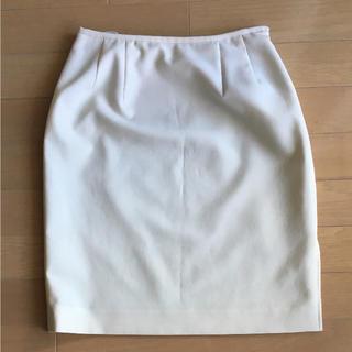 ファイナルステージ(FINAL STAGE)のきれいめスタイル サイドスリット ストレッチタイトスカート(ひざ丈スカート)