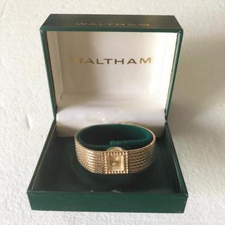 ウォルサム(Waltham)のWALTHAM ウォルサム レディース 腕時計 稼働 INCABLOCK 手巻き(腕時計)