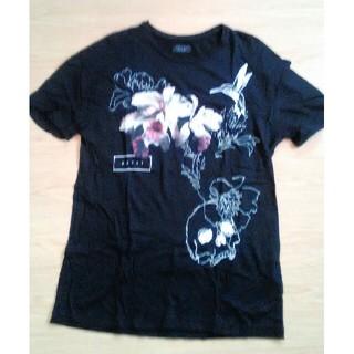 ザラ(ZARA)のZARA MEN ザラ 半袖Tシャツ 黒 Lサイズ(Tシャツ/カットソー(半袖/袖なし))