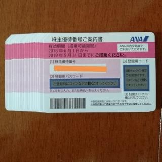 エーエヌエー(ゼンニッポンクウユ)(ANA(全日本空輸))のANA 全日空株主優待券 17枚セット(航空券)