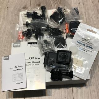 ゴープロ(GoPro)のgitup g3 duo ウェアラブルカメラ アクションカメラ(コンパクトデジタルカメラ)