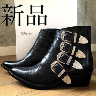 トーガ(TOGA)の新品 TOGA PULLA トーガ プルラ メタル カウボーイ ブーツ(ブーツ)