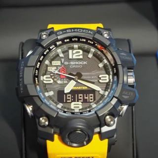 ジーショック(G-SHOCK)のMUDMASTER マッドマスター GWG-1000-1A9JF おまけ付き(腕時計(デジタル))