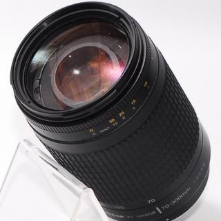 ニコン(Nikon)の⭐もっと遠くへ⭐Nikon 70-300mm 大迫力の超望遠レンズ(レンズ(ズーム))