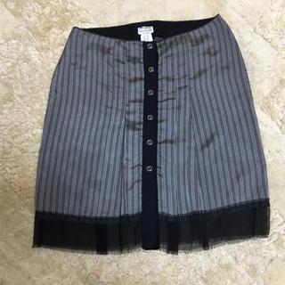 アルベルタフェレッティ(ALBERTA FERRETTI)のフェレッティ異素材スカート(ひざ丈スカート)