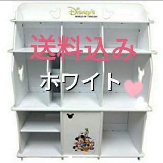 ディズニー(Disney)の【新品・未使用】ディズニー英語の収納棚(棚/ラック/タンス)
