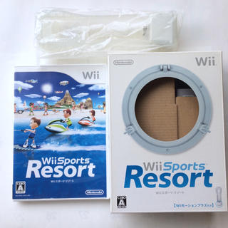 Wii スポーツリゾート Wiiモーションプラス付き(家庭用ゲームソフト)