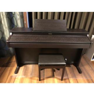 ローランド(Roland)のゆんさん専用 Roland ピアノ 椅子つき HP302-RW 2011年製(電子ピアノ)