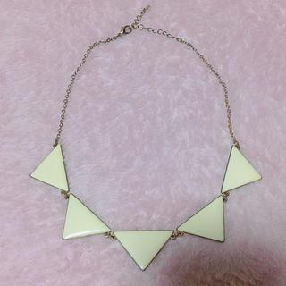 ジーユー(GU)の- GU - 三角 ネックレス(ネックレス)