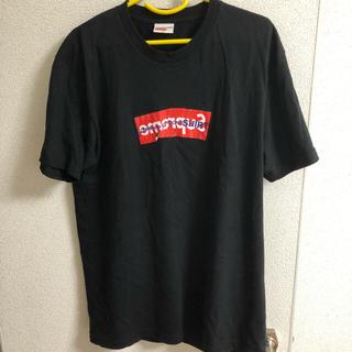 シュプリーム(Supreme)のsupreme コムデギャルソン Tシャツ(Tシャツ/カットソー(半袖/袖なし))
