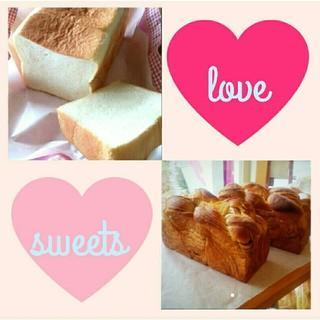 キャラメルブレッド&食パン
