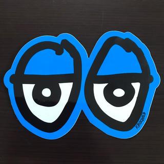 クルキッド(KROOKED)の【縦10cm横14.5cm】krooked eyes ステッカー(ステッカー)