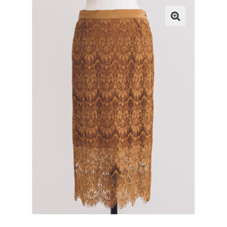 バウムウンドヘルガーデン(BAUM UND PFERDGARTEN)のBAUM UND PFERDGARTEN レーススカート(ひざ丈スカート)