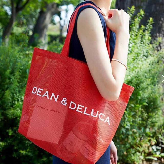 Dean Deluca Dean Deluca メッシュトートバッグ ブラッドオレンジ L の通販 By ゎたこ S Shop ディーンアンドデルーカならラクマ