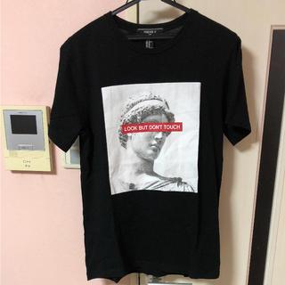 フォーエバートゥエンティーワン(FOREVER 21)の【SALE】FOREVER21 半袖 Tシャツ XS フォーエバー(Tシャツ/カットソー(半袖/袖なし))