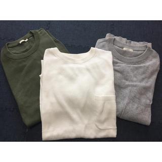 ジーユー(GU)のGU ポケット付きサマーニット3枚☆(ニット/セーター)