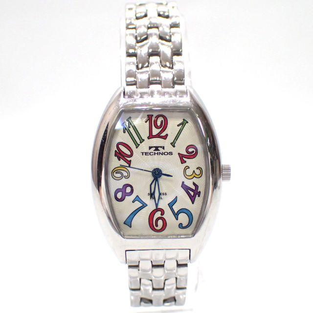 TECHNOS(テクノス)のA620 中古 テクノス TSL407SS 腕時計 ファッション アナログ レディースのファッション小物(腕時計)の商品写真