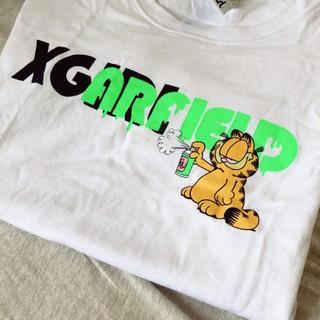 エックスガール(X-girl)のX-girl ガーフィールドコラボT(Tシャツ(半袖/袖なし))