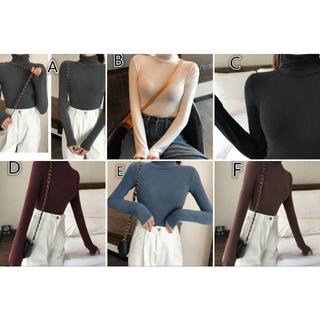 人気商品 値下げ 半袖 2点セット インナーボリューム袖 トップスシャツ7分袖(Tシャツ(長袖/七分))