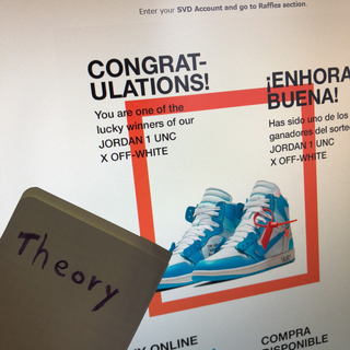 オフホワイト(OFF-WHITE)のNIKE×OFF-WHITE AIR JORDAN 1 UNC THE TEN(スニーカー)