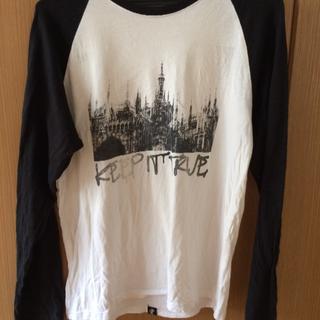 ネイビープロデュース(Navy produce)のLサイズ プリントロンT(Tシャツ/カットソー(七分/長袖))
