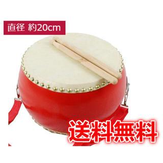 【訳あり‼︎】太鼓・バチ・ストラップセット お祭り イベント (和太鼓)