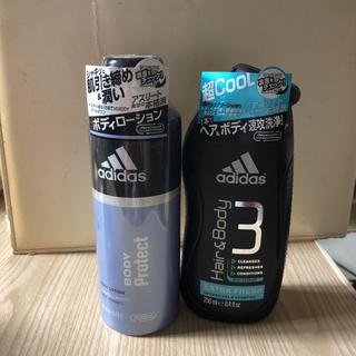 アディダス(adidas)のアディダス ヘア&ボディウォッシュ  ローション2点セット(ボディソープ / 石鹸)