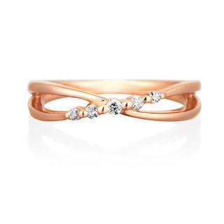 ヨンドシー(4℃)の🌈いーちゃん@様専用🌈 ◎4°C ピンキーリング ダイヤモンド(リング(指輪))