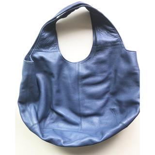 パピヨネ(PAPILLONNER)のパピヨネ バッグ papillonner bag ブルー(トートバッグ)