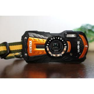 ペンタックス(PENTAX)の防水・耐衝撃カメラ PENTAX【WG-2GPS】オレンジ(コンパクトデジタルカメラ)