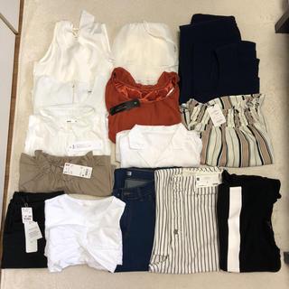 ジーユー(GU)の夏服 レディース まとめ売り 新品タグ付き(セット/コーデ)