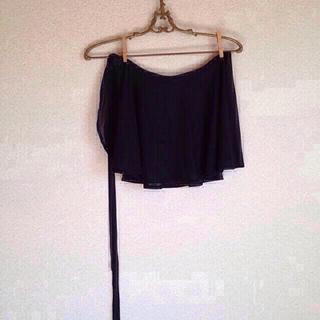 チャコット(CHACOTT)のチャコット バレエ用スカート 黒(ミニスカート)