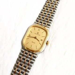 ウォルサム(Waltham)の美品☆ 電池交換込み ウォルサム レディース腕時計(腕時計)
