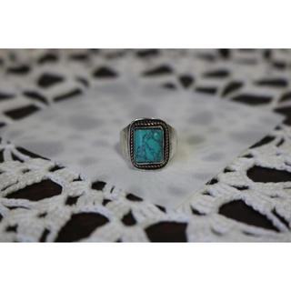 ターコイズ リング 19号 天然石(リング(指輪))
