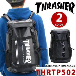 スラッシャー(THRASHER)の 最安値 大人気 最新作 スラッシャー THRASHER 502 BK/WH(バッグパック/リュック)