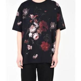ラッドミュージシャン(LAD MUSICIAN)のラッドミュージシャン 花柄 tシャツ 赤(Tシャツ/カットソー(半袖/袖なし))