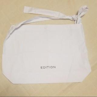 エディション(Edition)のEDITION 布ショップバッグ(ショップ袋)