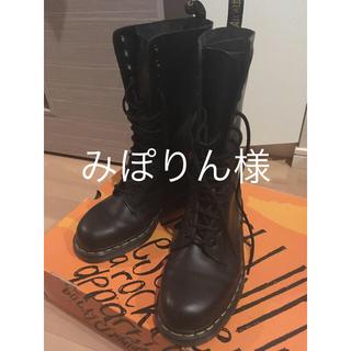 ドクターマーチン(Dr.Martens)のDr.Martens 14ホール 黒 UK7(26cm)(ブーツ)