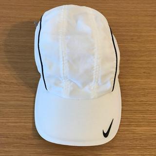 ナイキ(NIKE)のNIKE 帽子 (白)(キャップ)