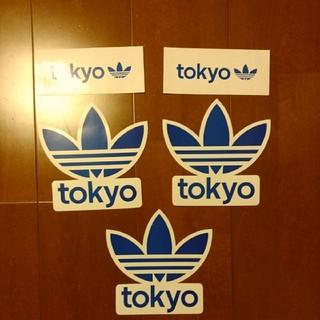 アディダス(adidas)のアディダス ステッカー tokyo 5枚セット(その他)