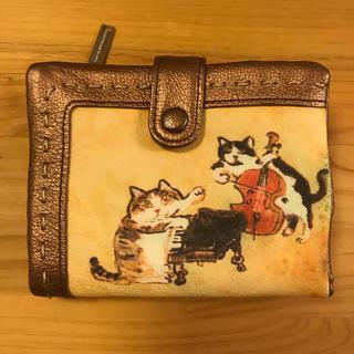 エーエスマンハッタナーズ(A.S.Manhattaner's)のマンハッタナーズ  二つ折り 財布 未使用(財布)