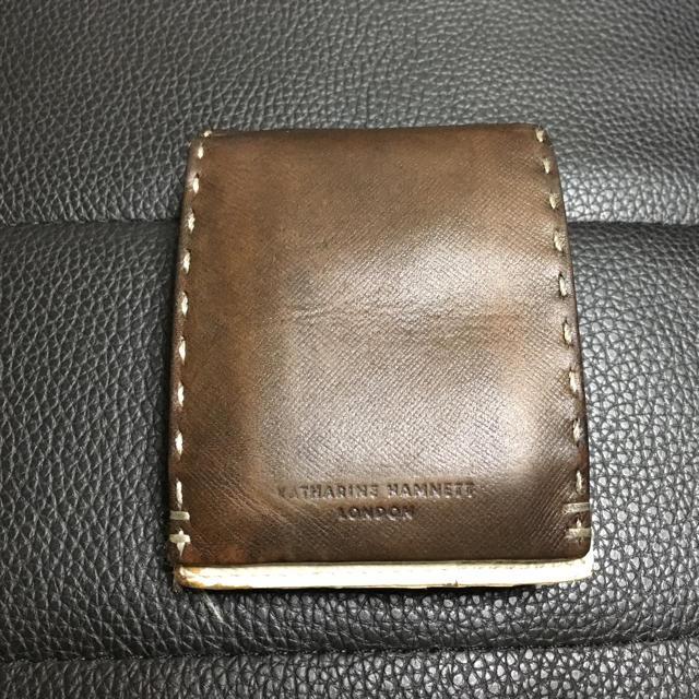KATHARINE HAMNETT(キャサリンハムネット)のキャサリン・ハムネット 二つ折り財布 メンズのファッション小物(長財布)の商品写真