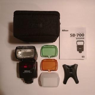 ニコン(Nikon)の【oby様専用】スピードライト SB-700  (ストロボ/照明)