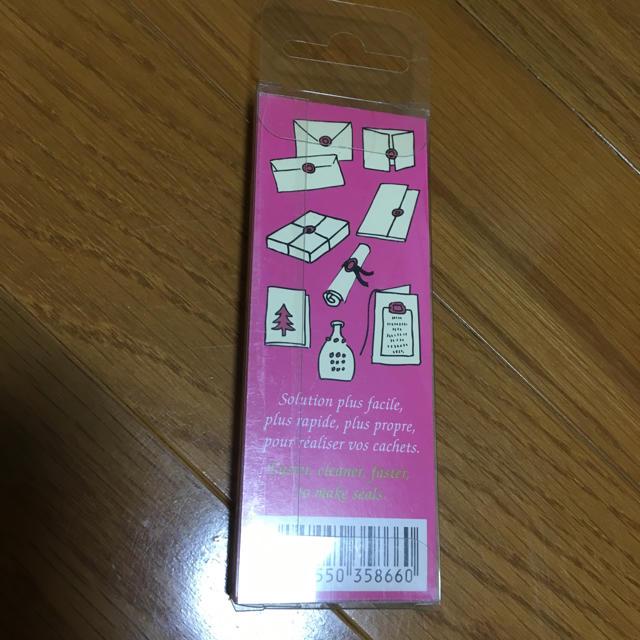 Herbin(エルバン)のグルーガン ショッキングピンク ワックス ハンドメイドの素材/材料(その他)の商品写真