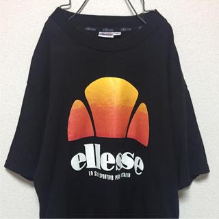エレッセ(ellesse)の90s ellesse エレッセ ビックロゴ プリント Tシャツ ヴィンテージ(Tシャツ/カットソー(半袖/袖なし))