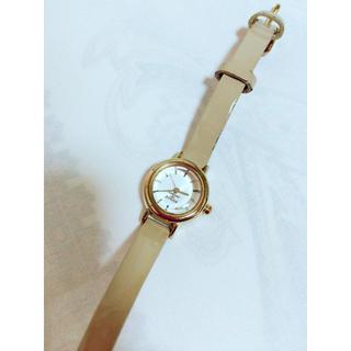カバンドズッカ(CABANE de ZUCCa)のカバンドズッカ 時計 キャラメル レディース(腕時計)
