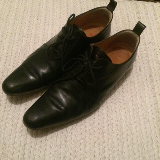 ヨウジヤマモト(Yohji Yamamoto)のY's レザードレスシューズ (ローファー/革靴)